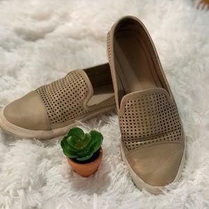 Calvin Klein Tan Leather slipon Loafer
